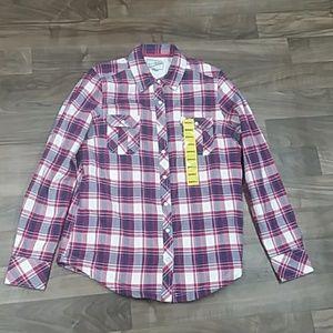 BC Clothing Women's Sherpa Shirt Jacket